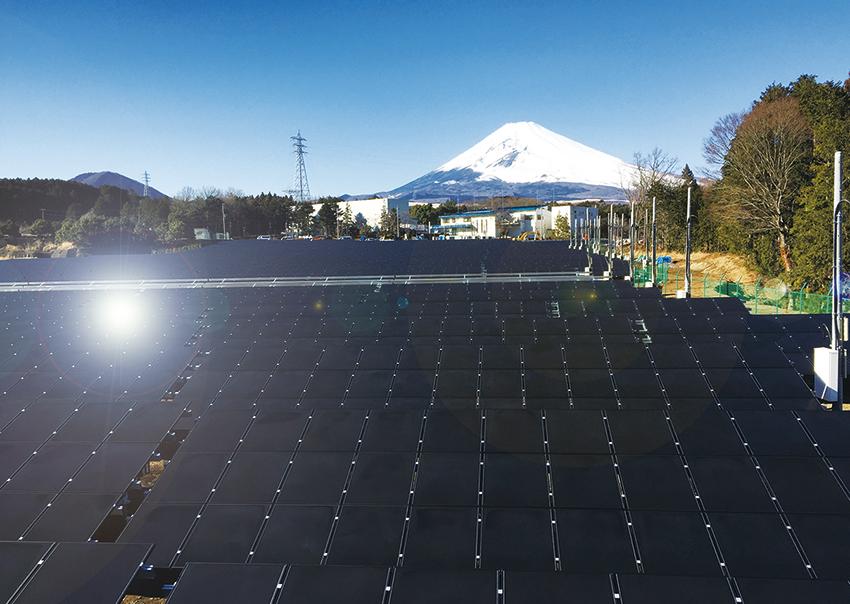 静岡県裾野市下和田第1太陽光発電所
